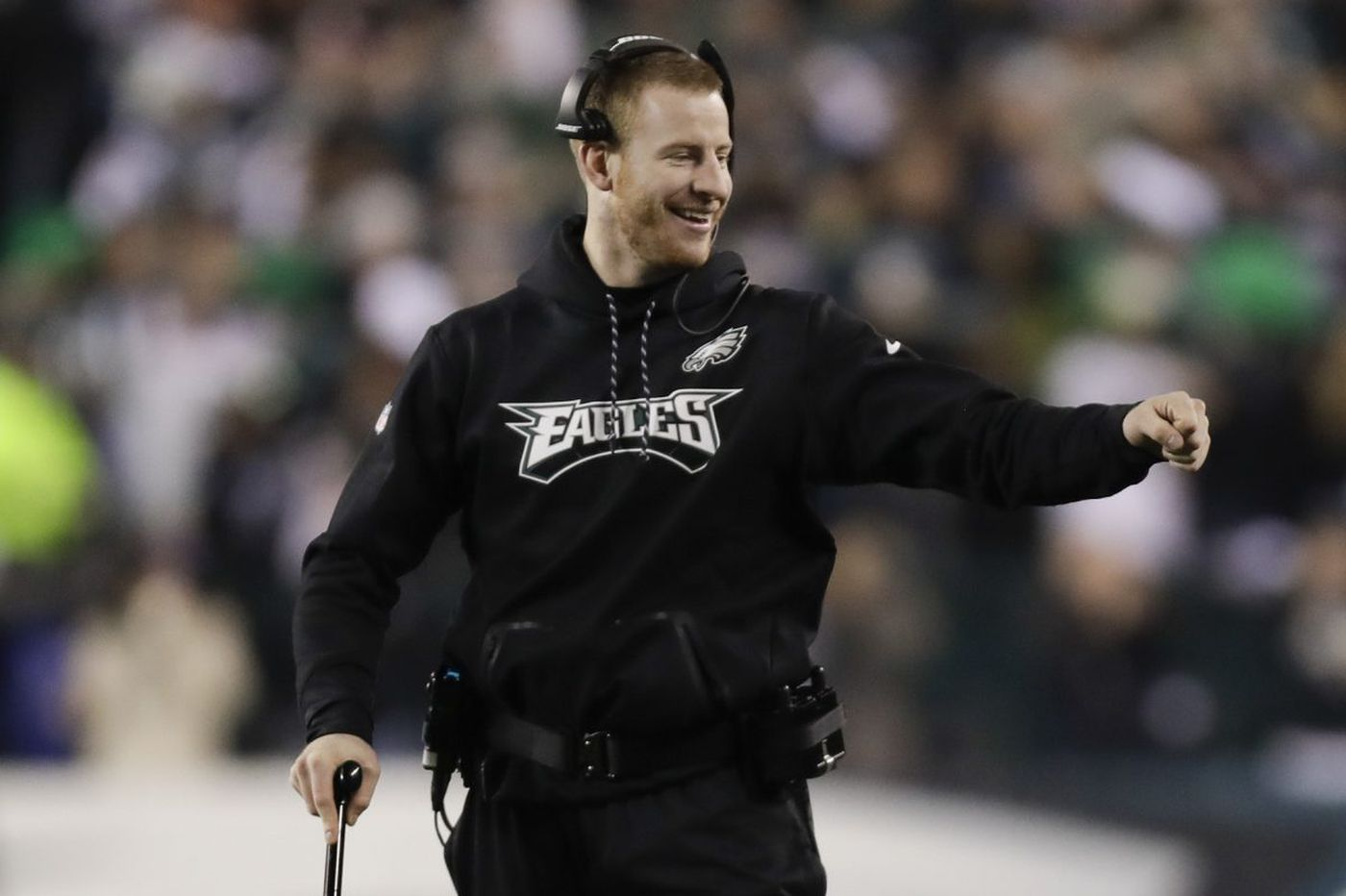 Carson Wentz 'confident' he'll play in Eagles' 2018 opener