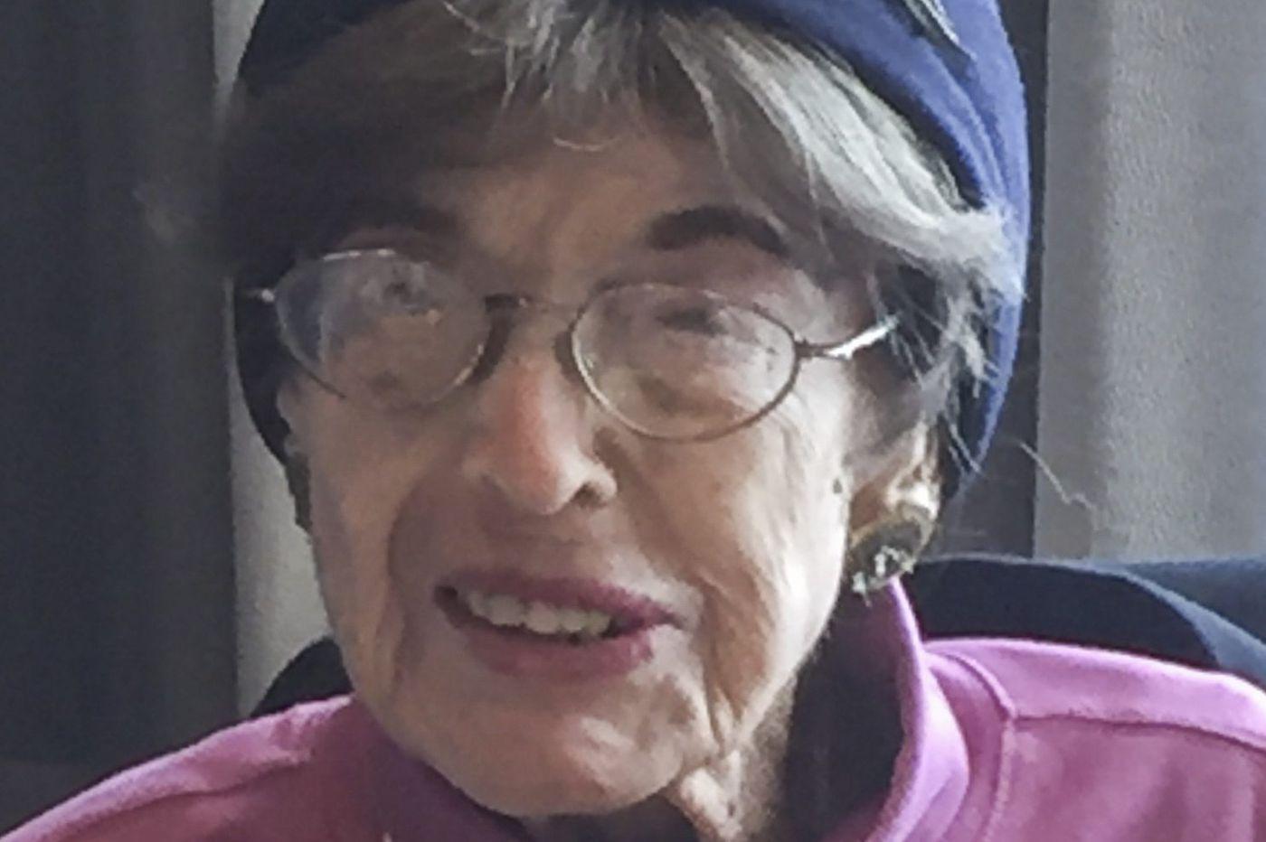 Reba C. Weiner, 103, fabric designer, store owner, and lively storyteller