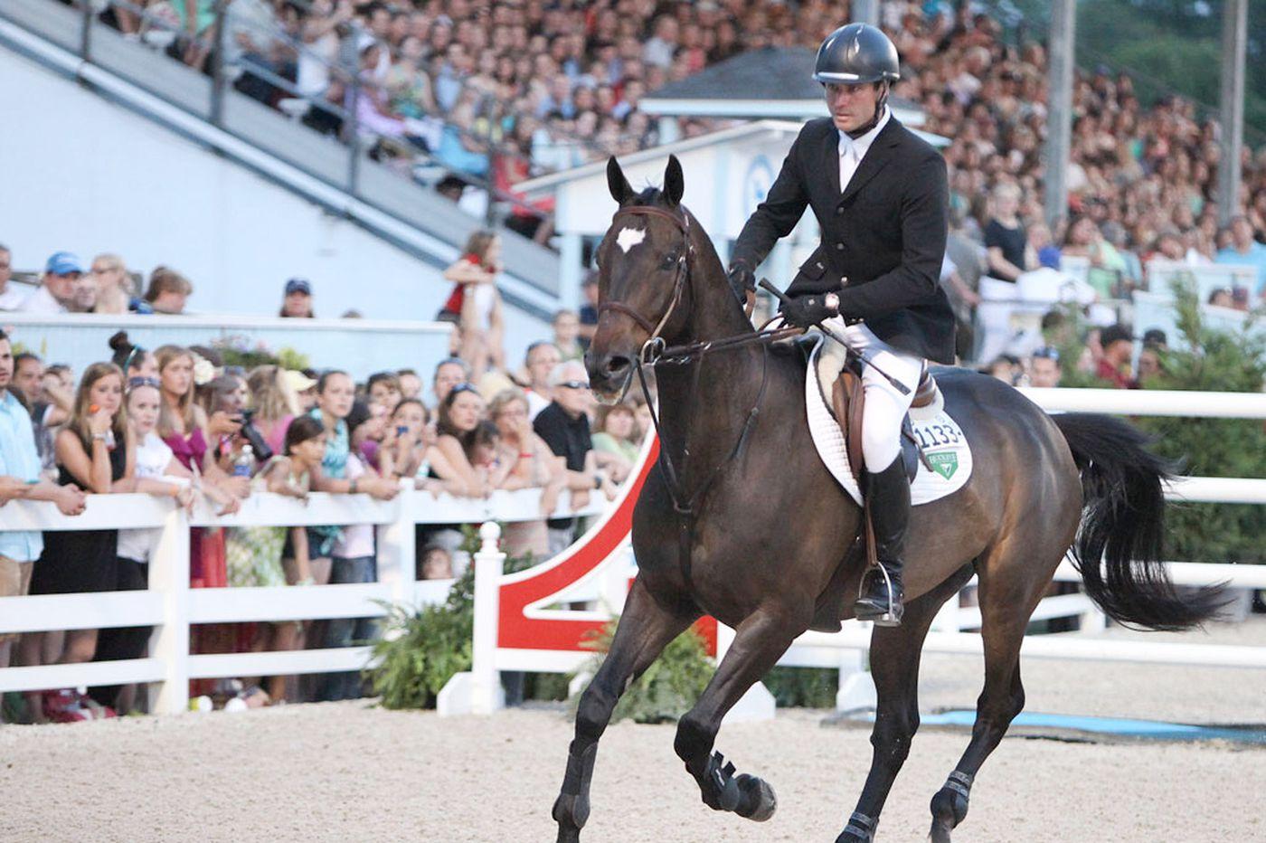 Ousted Devon Horse Show president calls change a 'hostile takeover'