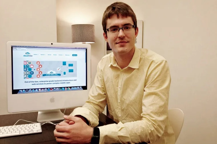 Brendan McCorkle's CloudMine will tout its new software-building system.