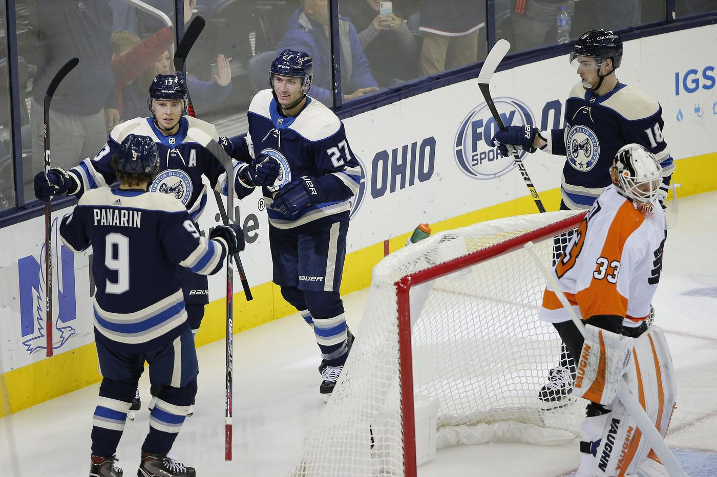 Flyers-Blue Jackets observations: Goalies are struggling, and so is Ivan Provorov