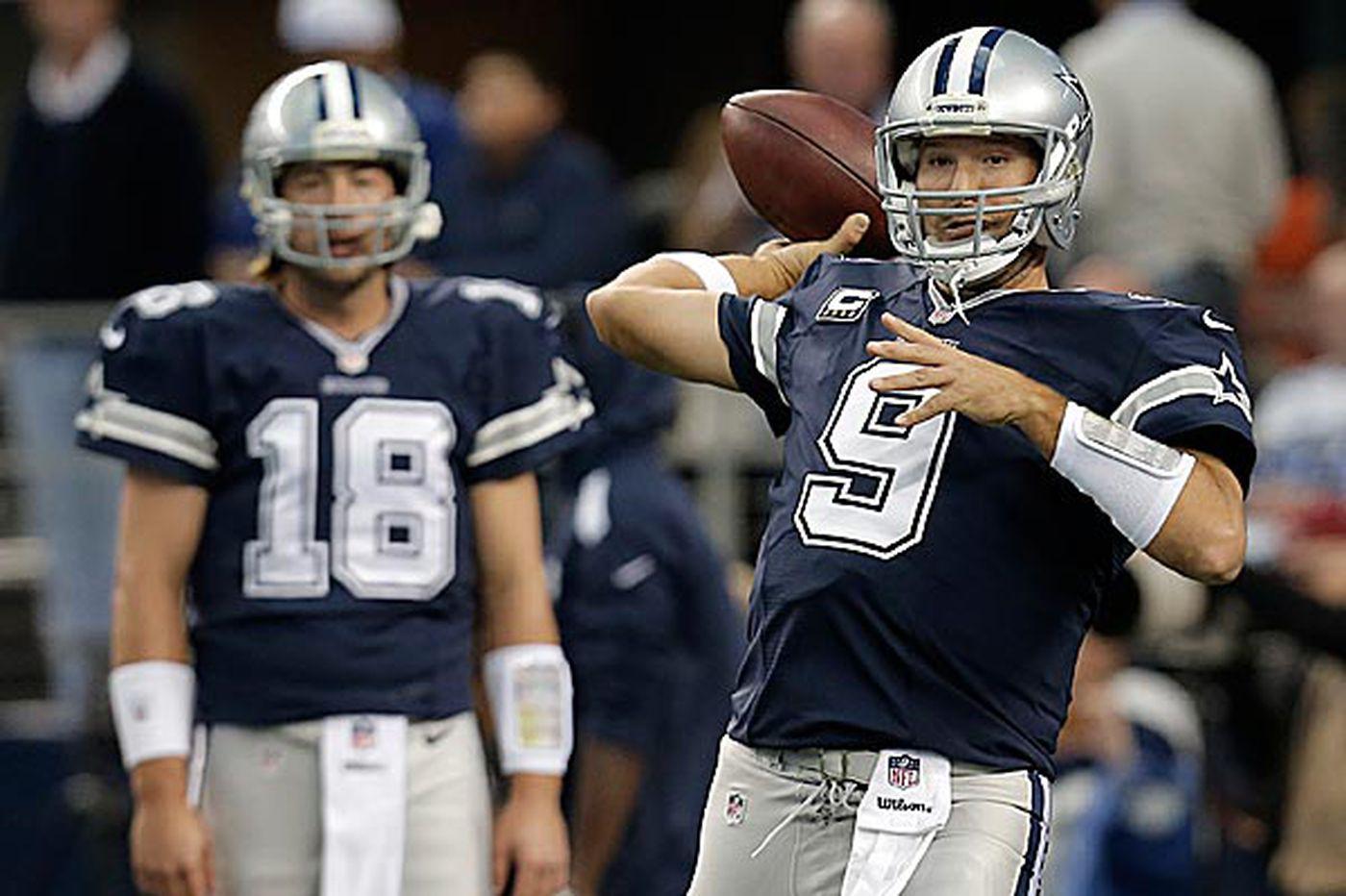 Amid Romo aftershocks, Eagles prepare to face Cowboys