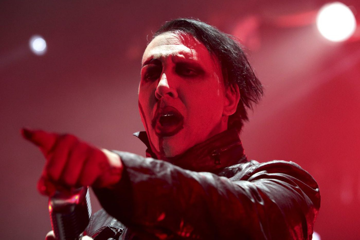 Marilyn Manson cancels tour dates after injury, including Saturday's Camden stop