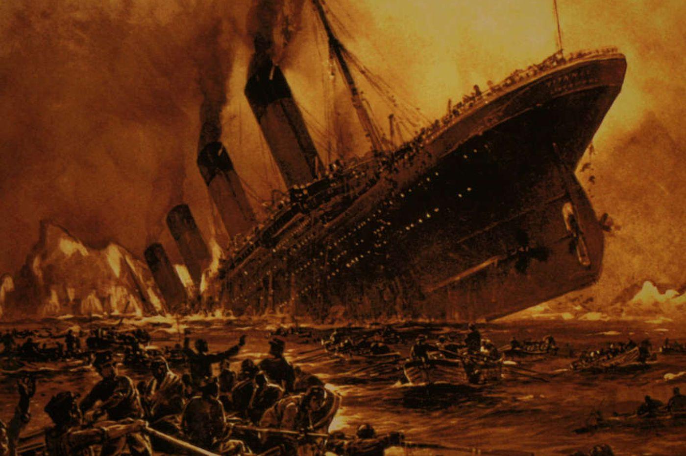 A Titanic show in an apt venue