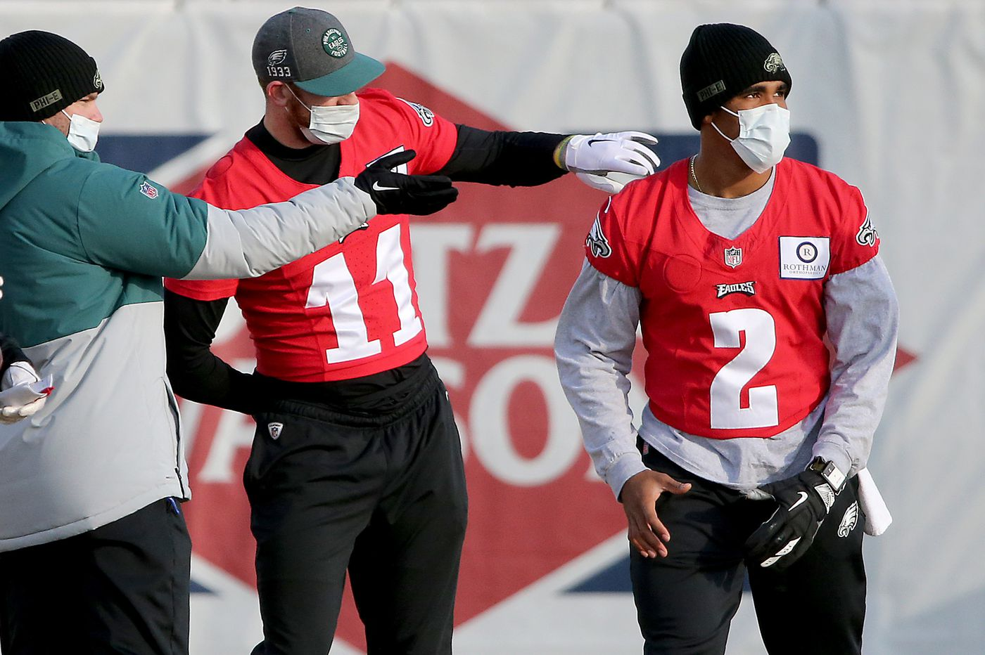 How safe is Carson Wentz's hold on Eagles' starting QB job? Joe Banner weighs in on this season and next