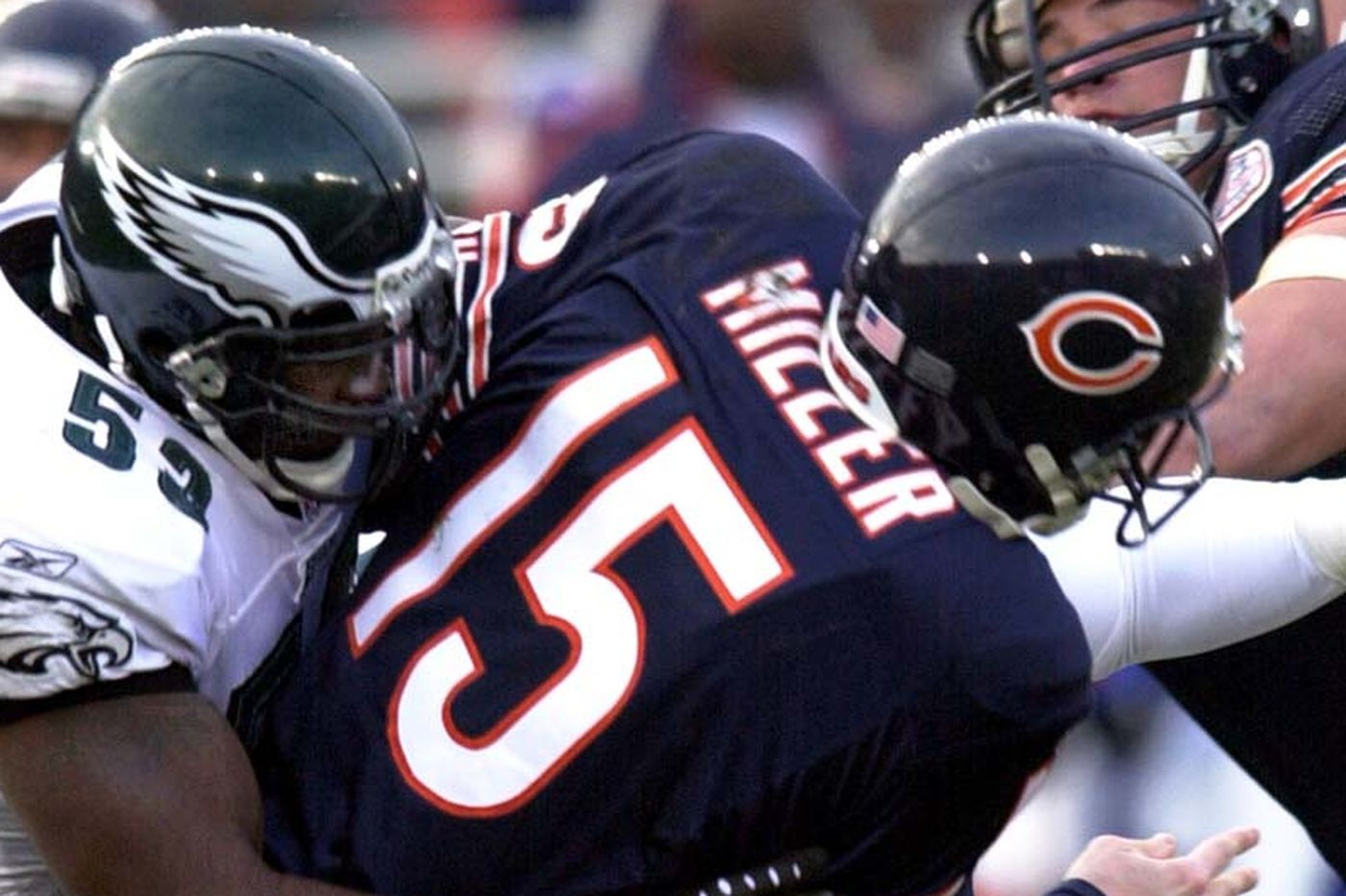 Hugh Douglas says his tone-setting hit in the last Eagles-Bears playoff game would get him banned now