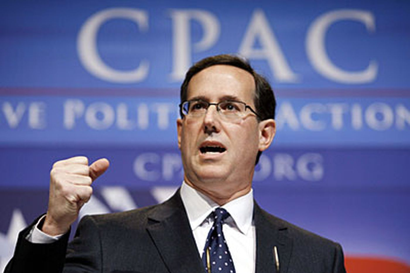 Santorum up to date on taxes; previous report incorrect