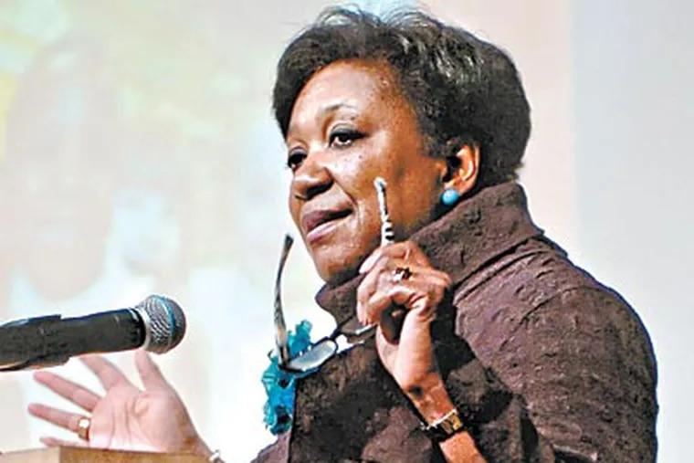 Superintendent Arlene Ackerman. (CLEM MURRAY / File)