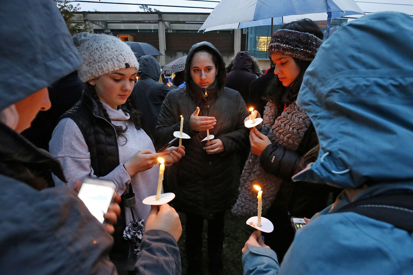 In Pittsburgh's Squirrel Hill, anger, unity, and grief-stricken calls to 'vote'