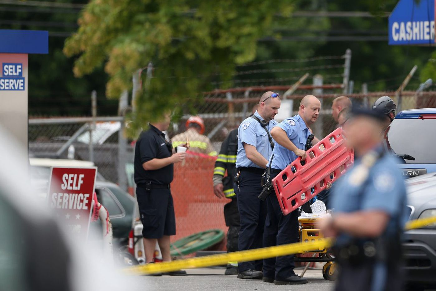 Bensalem PD: Crews recover body of gas-station owner killed in explosion