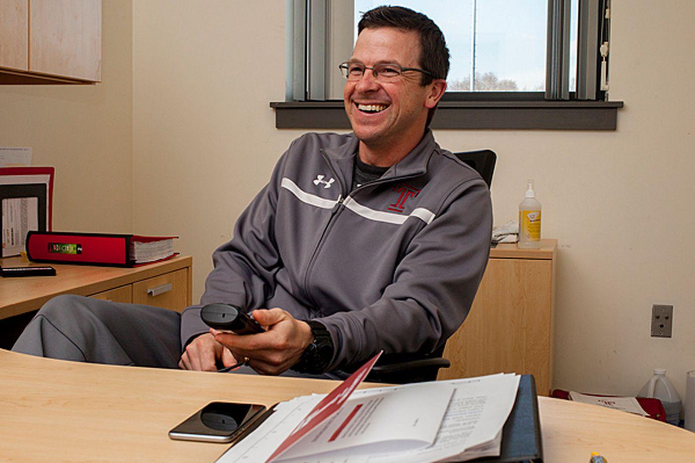Temple's new QB coach aims to rejuvenate P.J. Walker