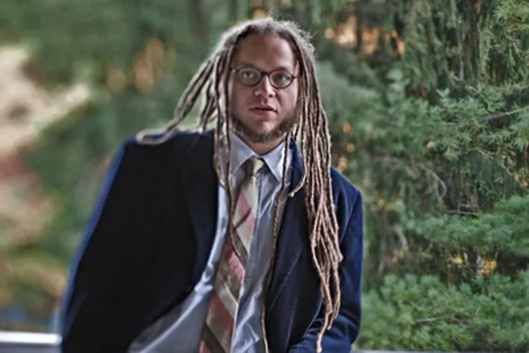 Iain Haley Pollock, Chestnut Hill Academy English teacher and winner of the Cave Canem Poetry Prize. (David M Warren / Staff Photographer)