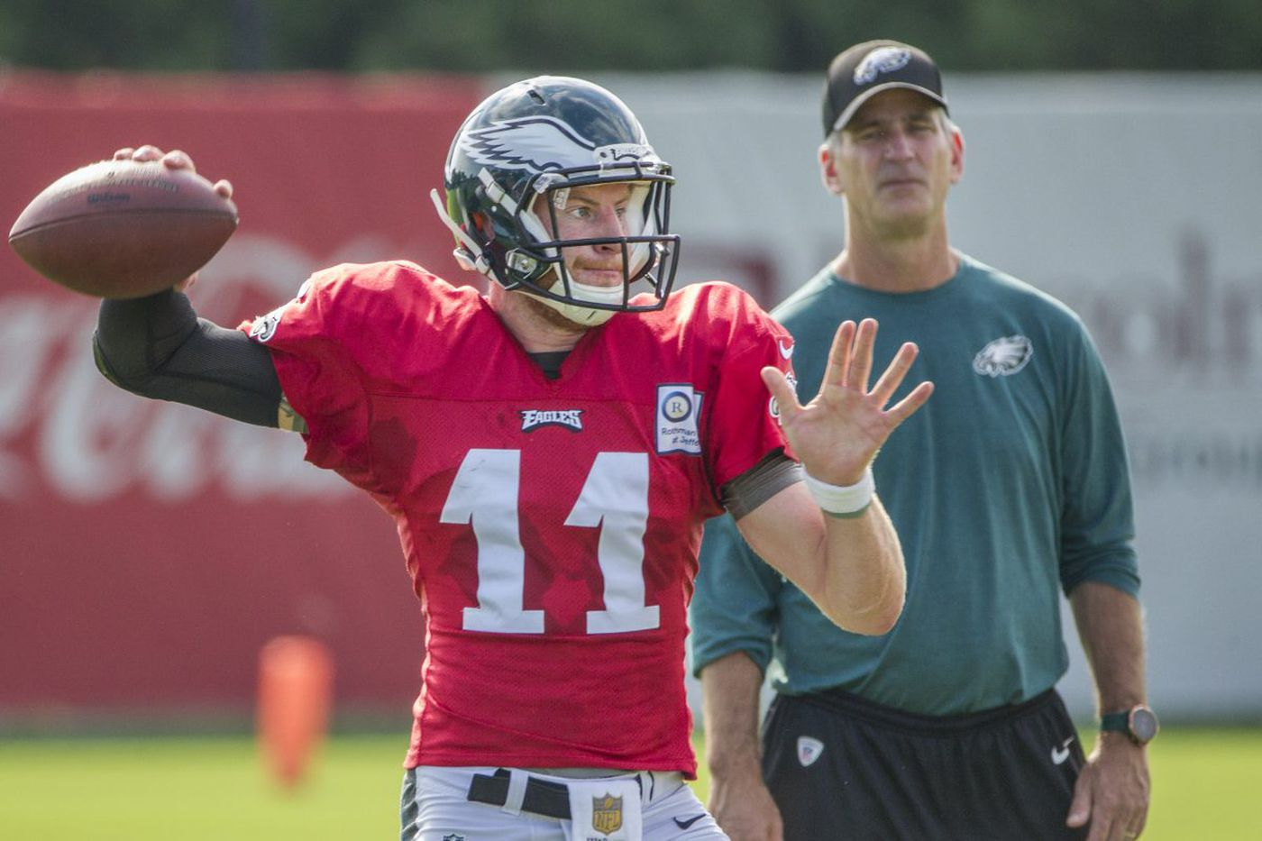 Carson Wentz, movie critic: Reich says Eagles QB's intense film focus pays off