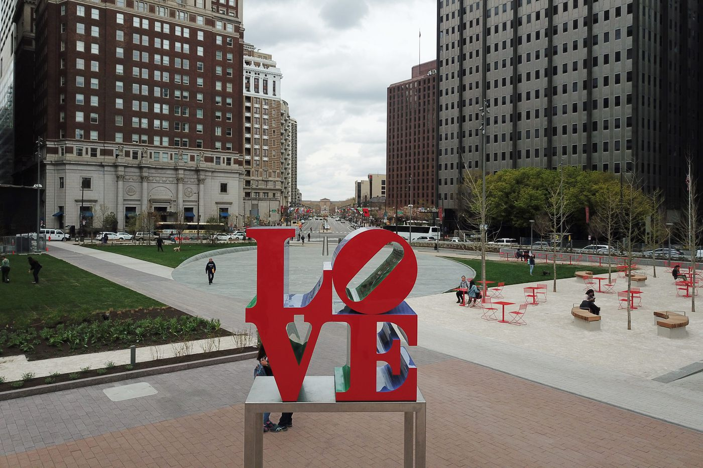 Couples can now get married in front of the LOVE sculpture in LOVE Park