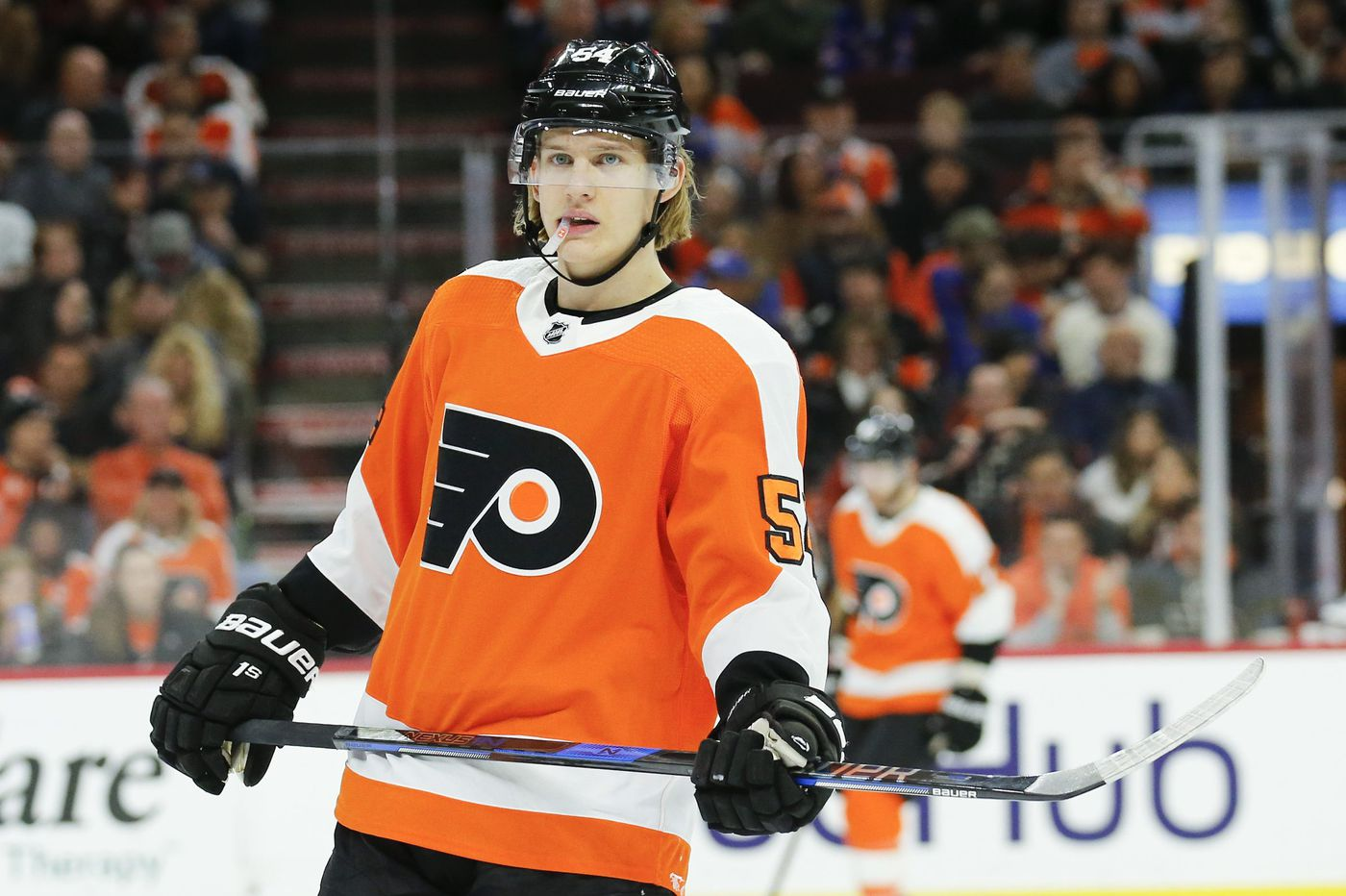Oskar Lindblom trying to help give Flyers 3 quality lines
