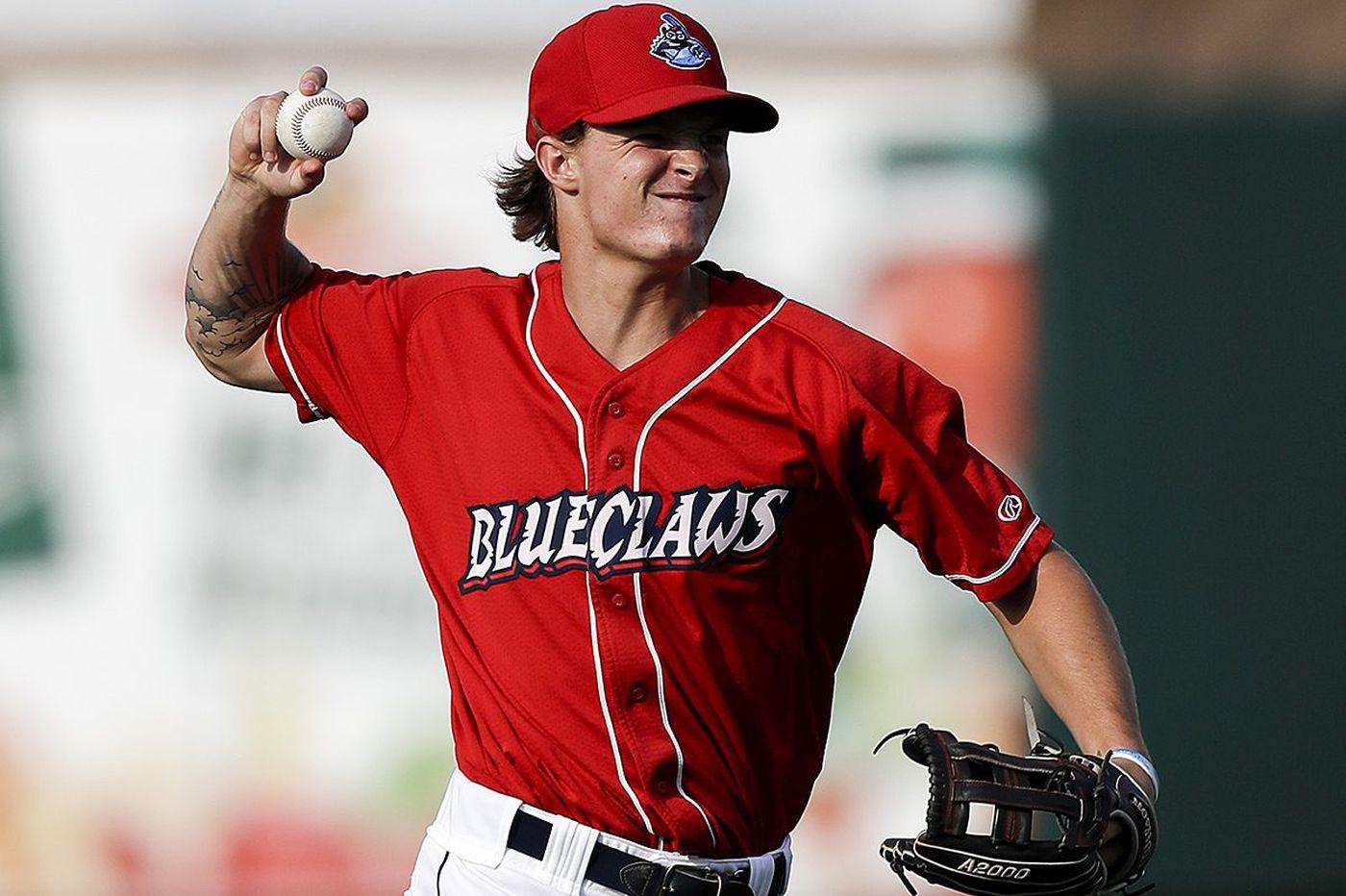 Baseball America drops Phillies prospect Mickey Moniak from top 100 list