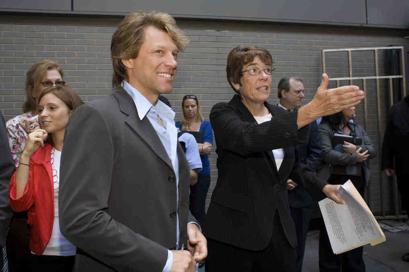 Jon Bon Jovi shouts out Philly's Sister Mary Scullion in chat with Stephen Colbert
