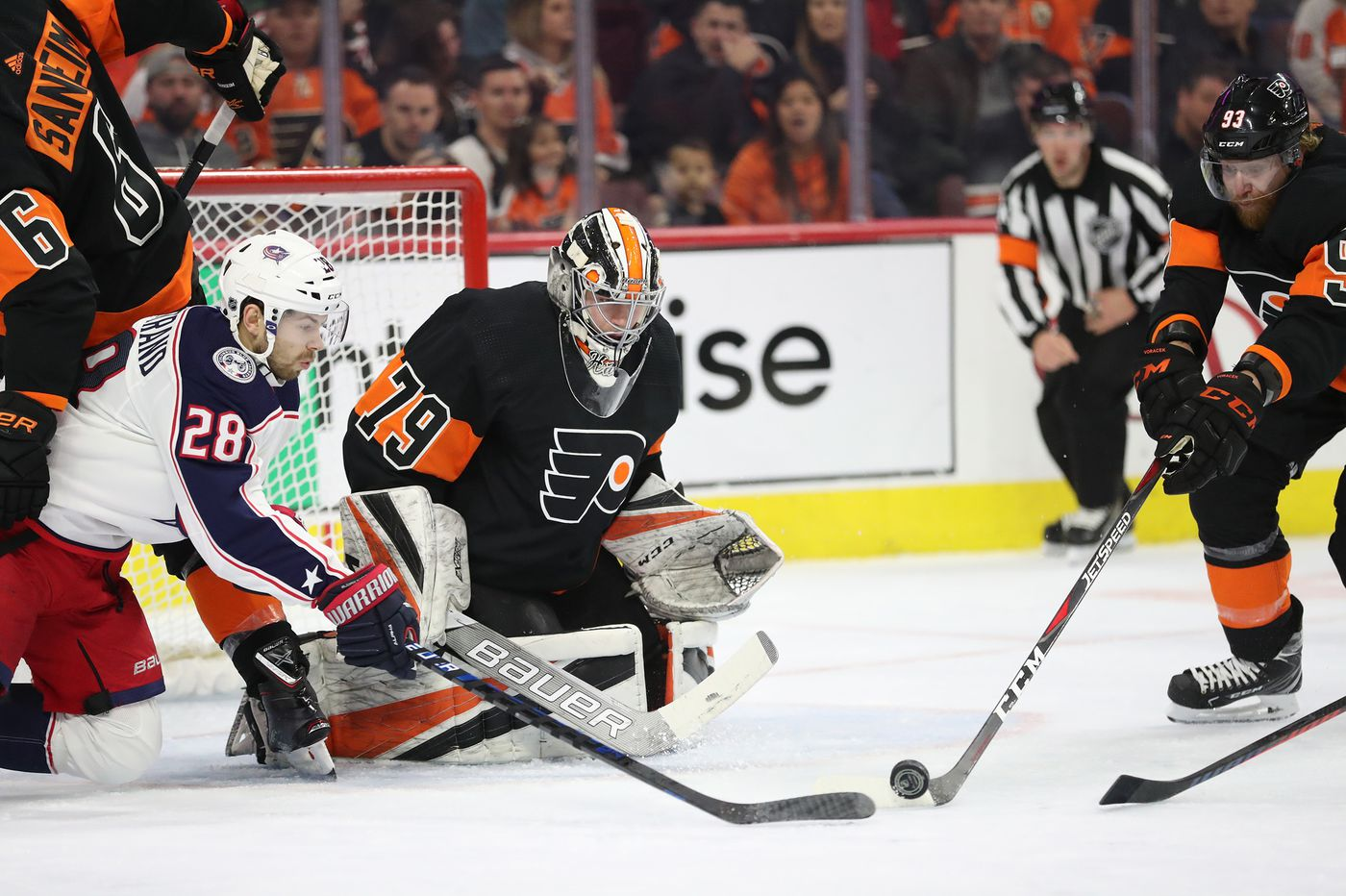 Carter Hart to start for Flyers, who must prove they're playoff contenders by taking care of Hurricanes