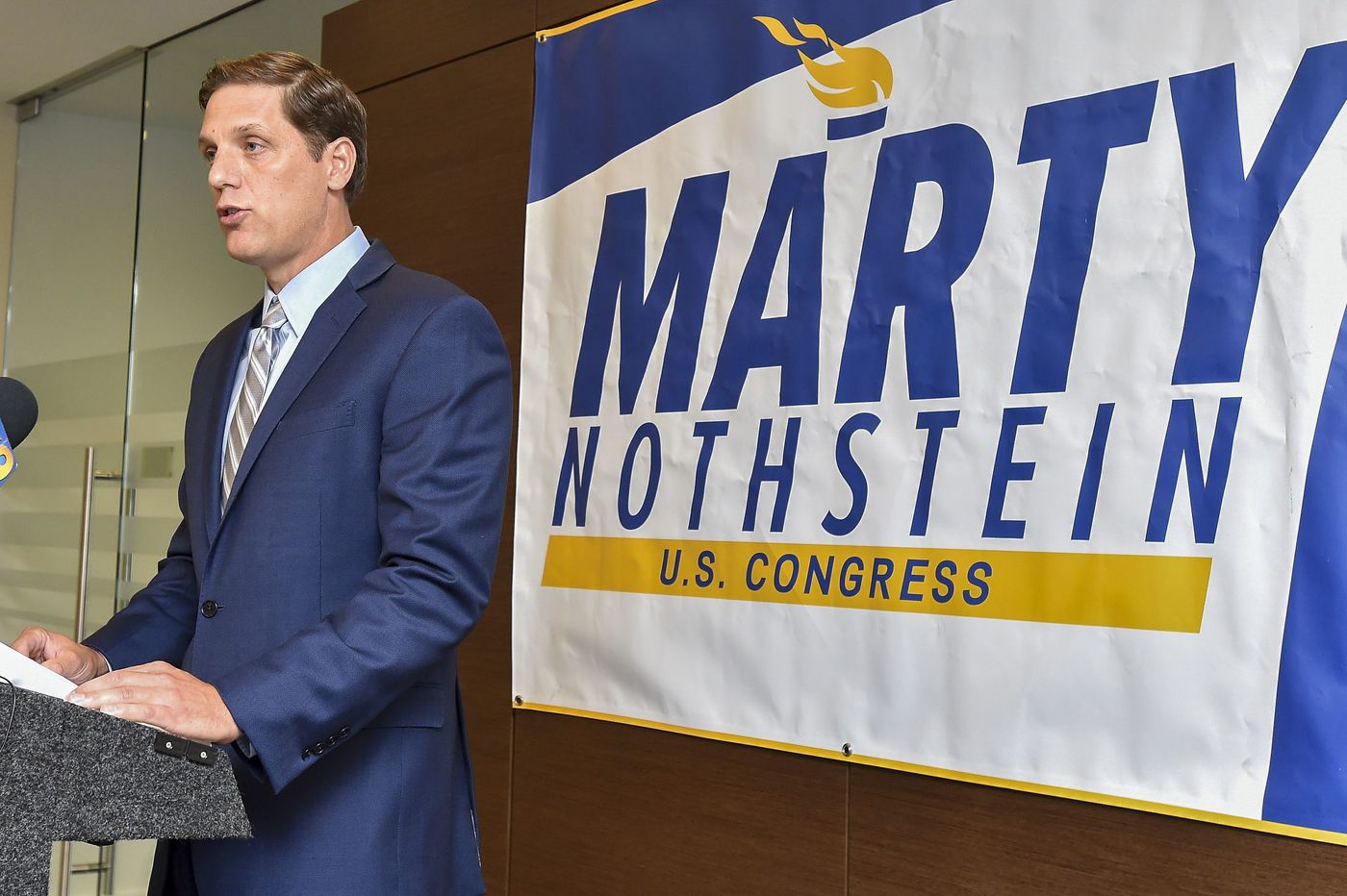 Pa. congressional candidate says he's cleared of misconduct allegations