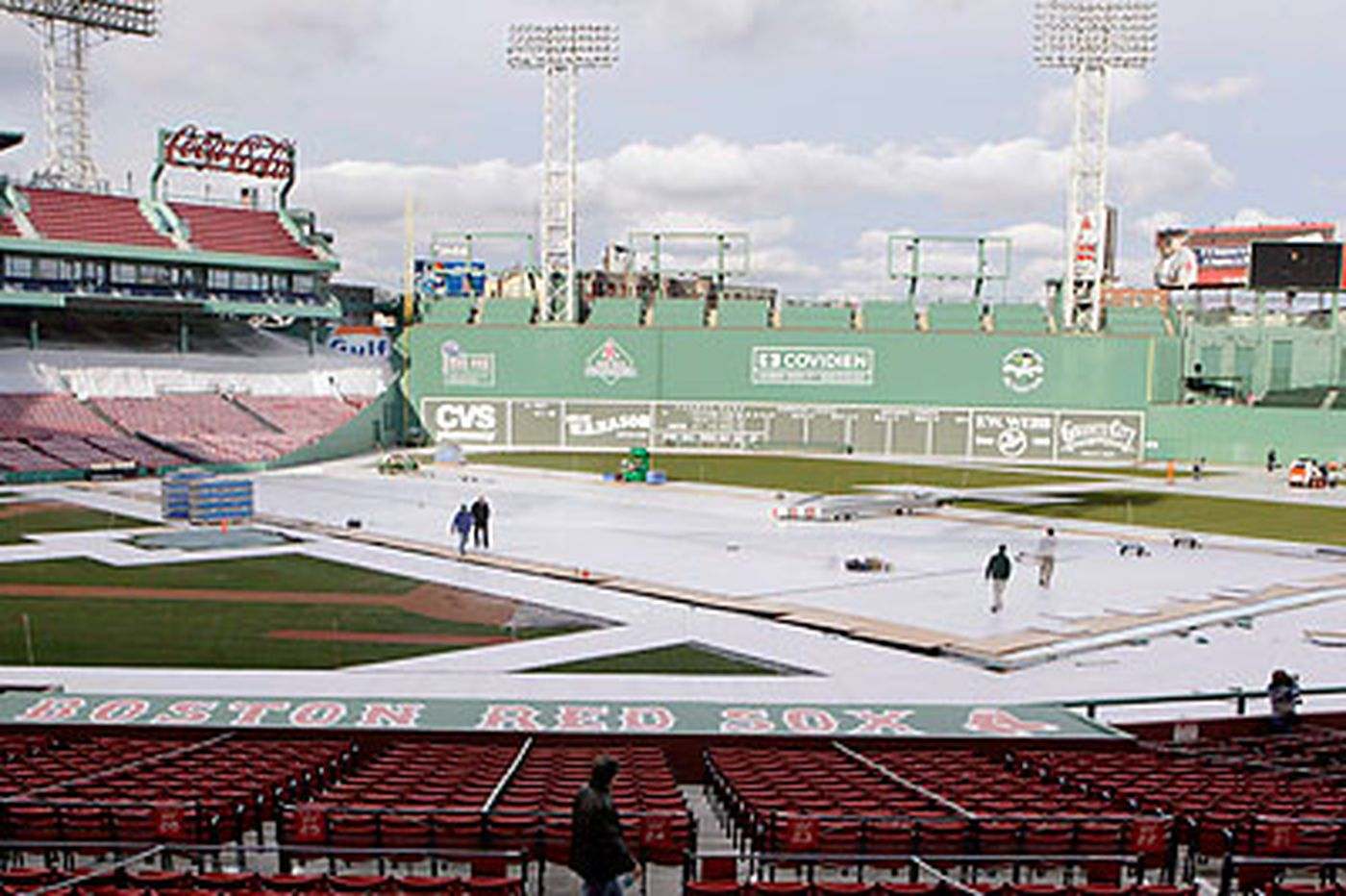 One Flyer is green when it comes to Fenway's Monster