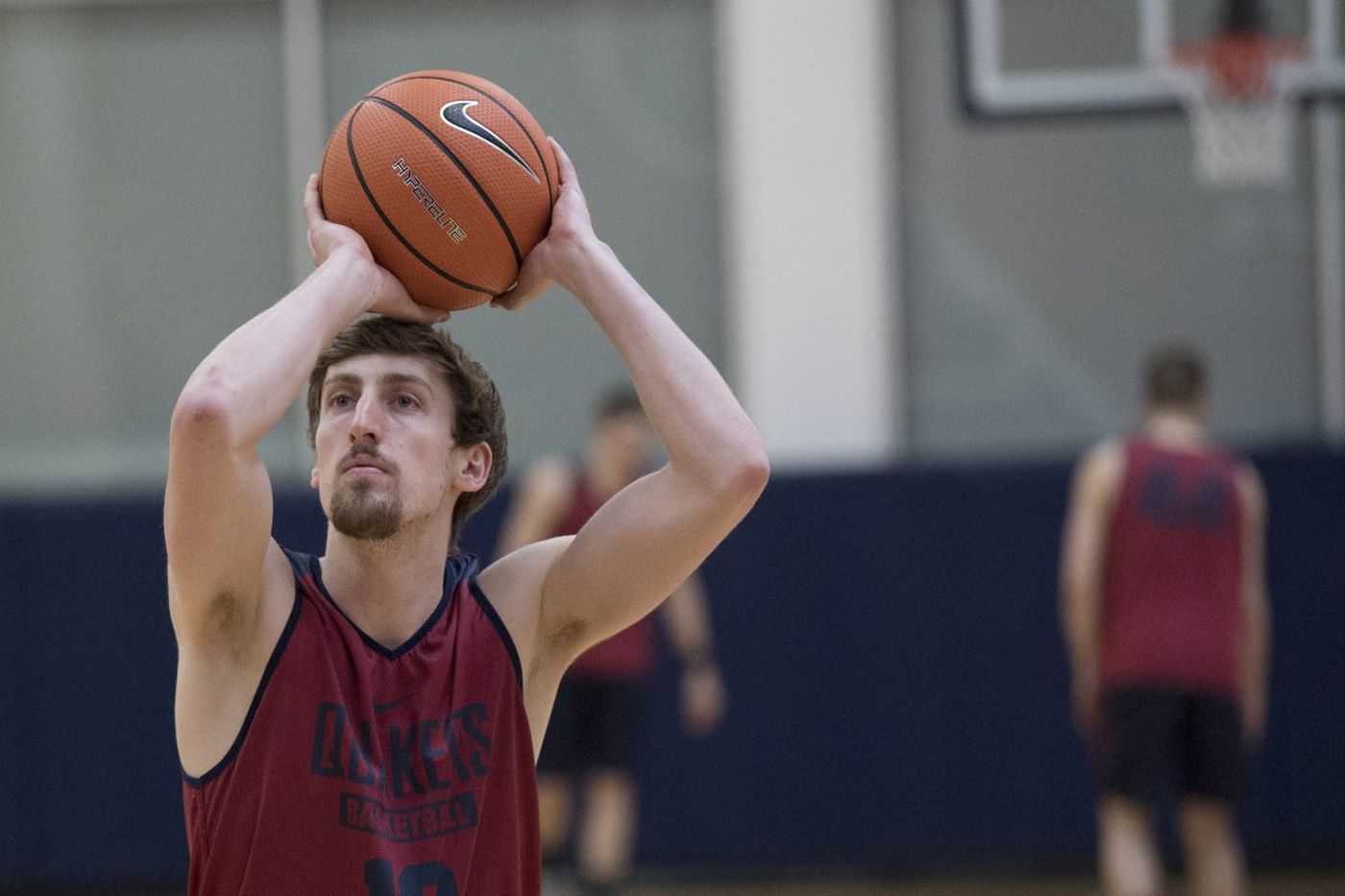 Penn's Caleb Wood makes the most of his second chance