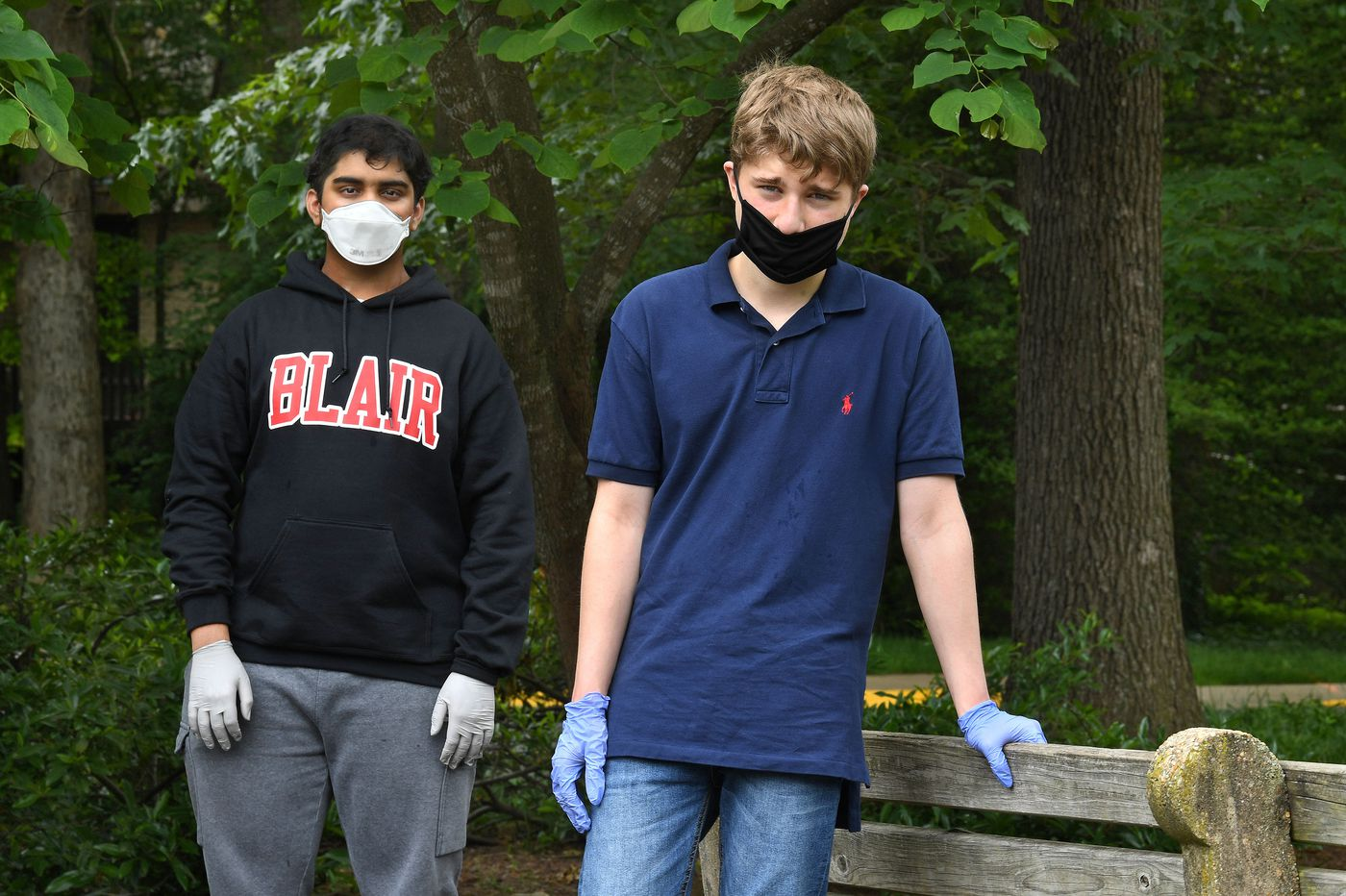 Two Maryland teens bought groceries for their grandparents during the pandemic. Soon it became a national volunteer effort.