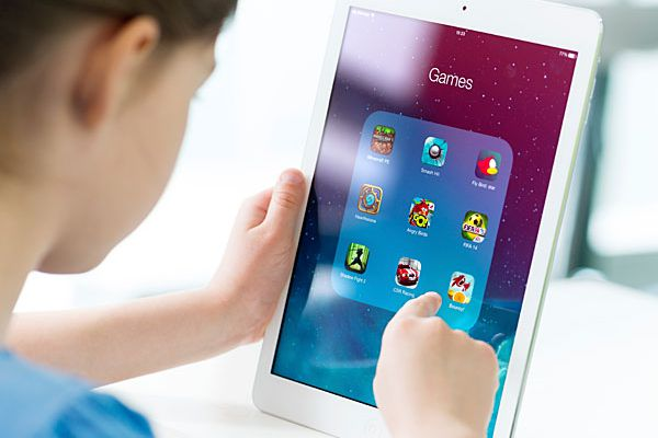 Is it a sin for kids to use iPads in church?