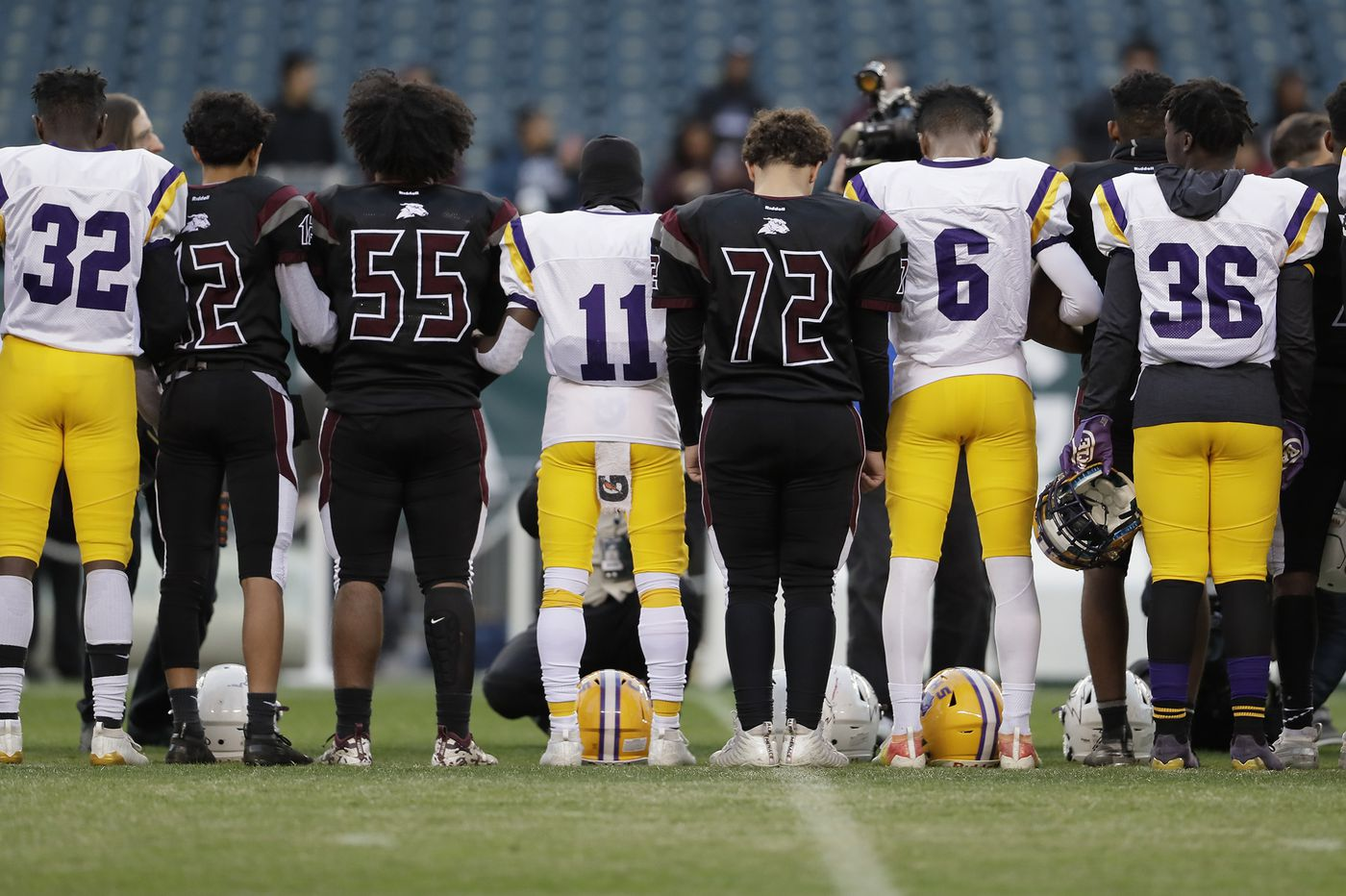Hours after 10-year-old victim dies, South Jersey teams play at the Linc to finish game interrupted by shooting