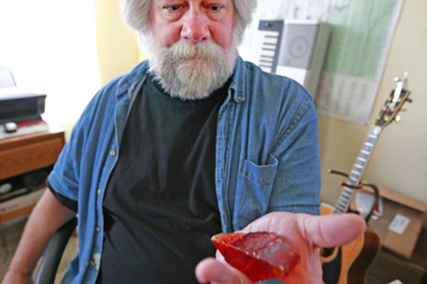 Kevin Riordan: 'Diamonds' of vintage glass reflect Pine Barrens' past