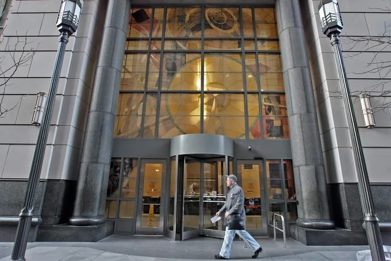 The Criminal Justice Center in Center City Philadelphia.