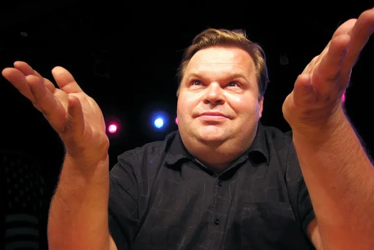 Monologist Mike Daisey will do two shows at Philadelphia Theatre Company.