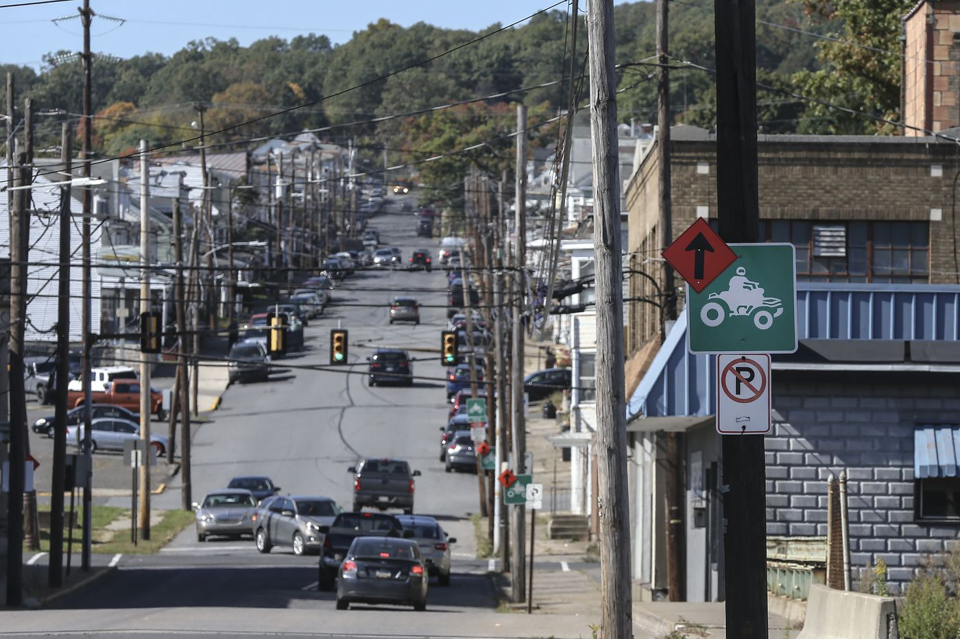 Dirt bikes and ATVs on city streets help revitalize a former Pennsylvania coal town