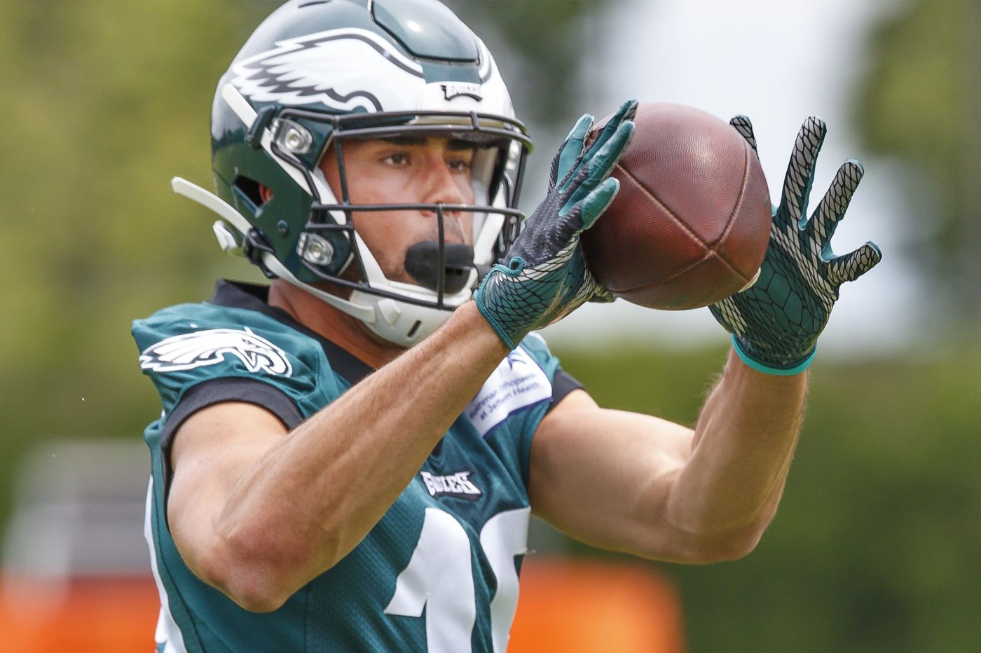 J.J. Arcega-Whiteside is showing red-zone talents the Eagles were looking for when they drafted him