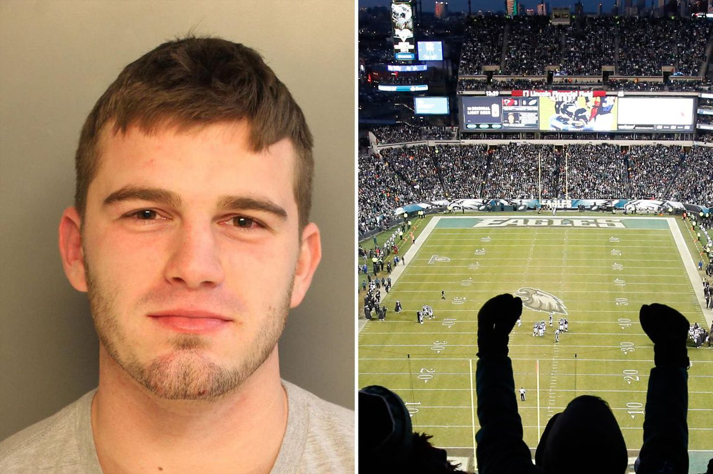 Cops: Eagles fan arrested after punching horse at the Linc