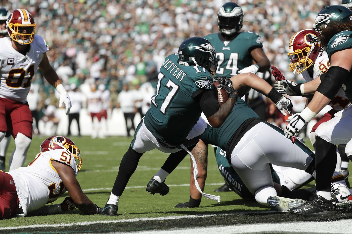 Five reasons the Eagles beat the Redskins | Paul Domowitch