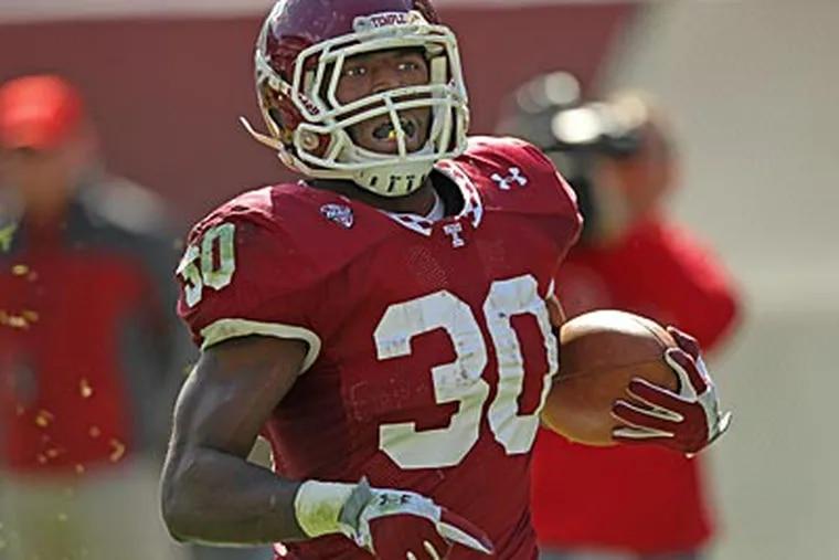 Bernard Pierce has 844 rushing yards and 17 touchdowns on the season. (Michael Bryant/Staff Photographer)