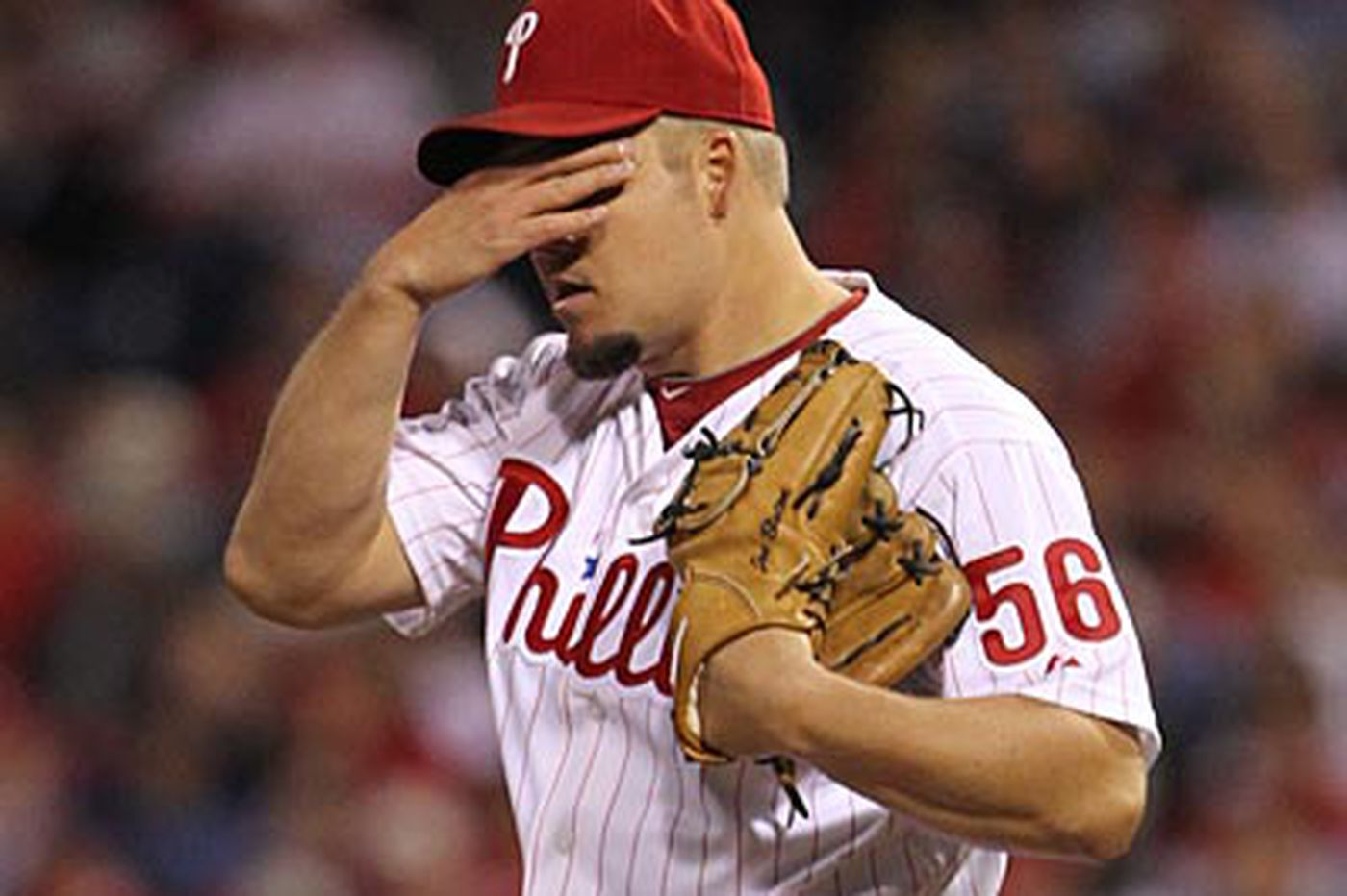 Phillies' Blanton goes to disabled list with elbow impingement