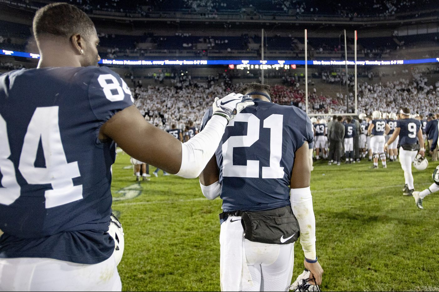 James Franklin wants to see Penn State cut down on mistakes