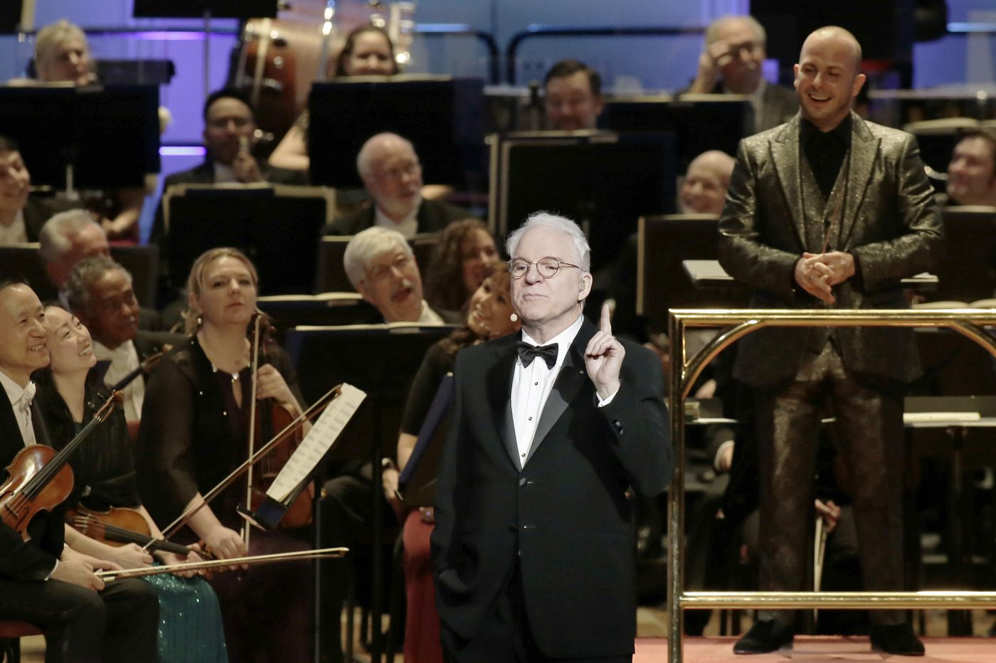 Philadelphia Orchestra plans online gala with Steve Martin, Wynton Marsalis, and a new commission honoring frontline workers