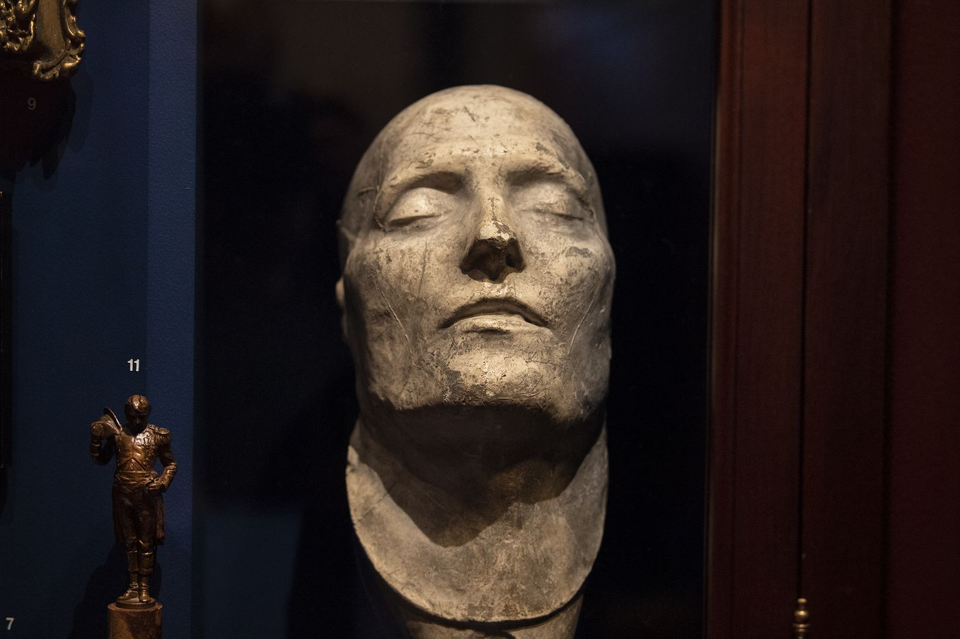 Visit this hidden Philly gem to see Napoleon's death mask and his brother Joe's toiletry kit