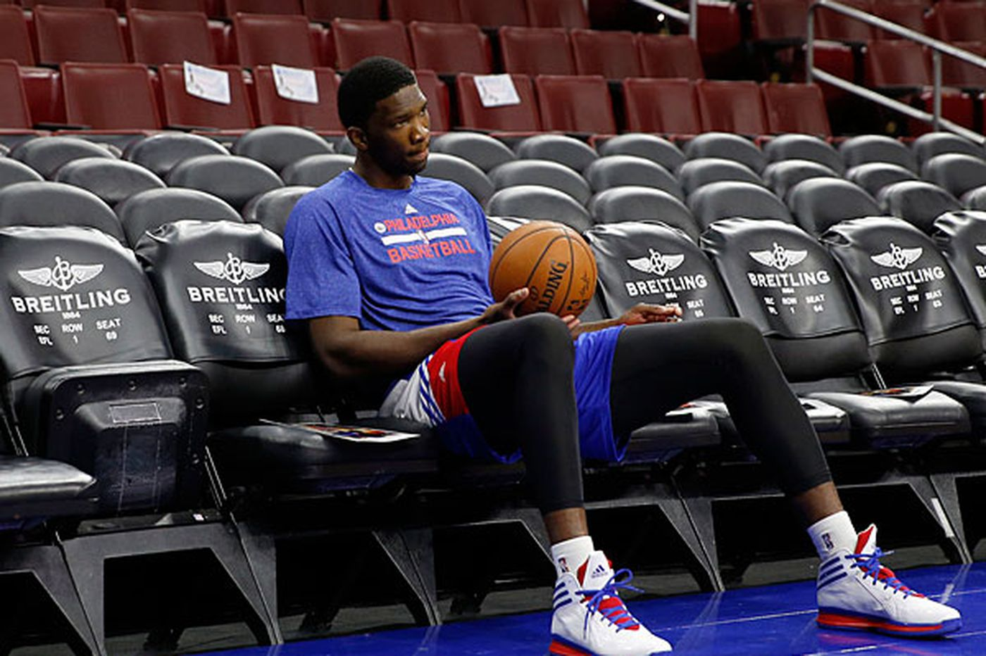 Sixers' Embiid reportedly suffers minor setback