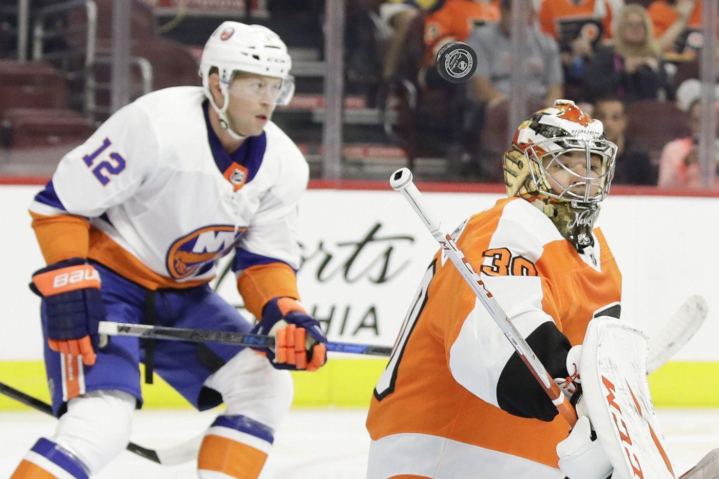Telltale season for Flyers' goalie Michal Neuvirth