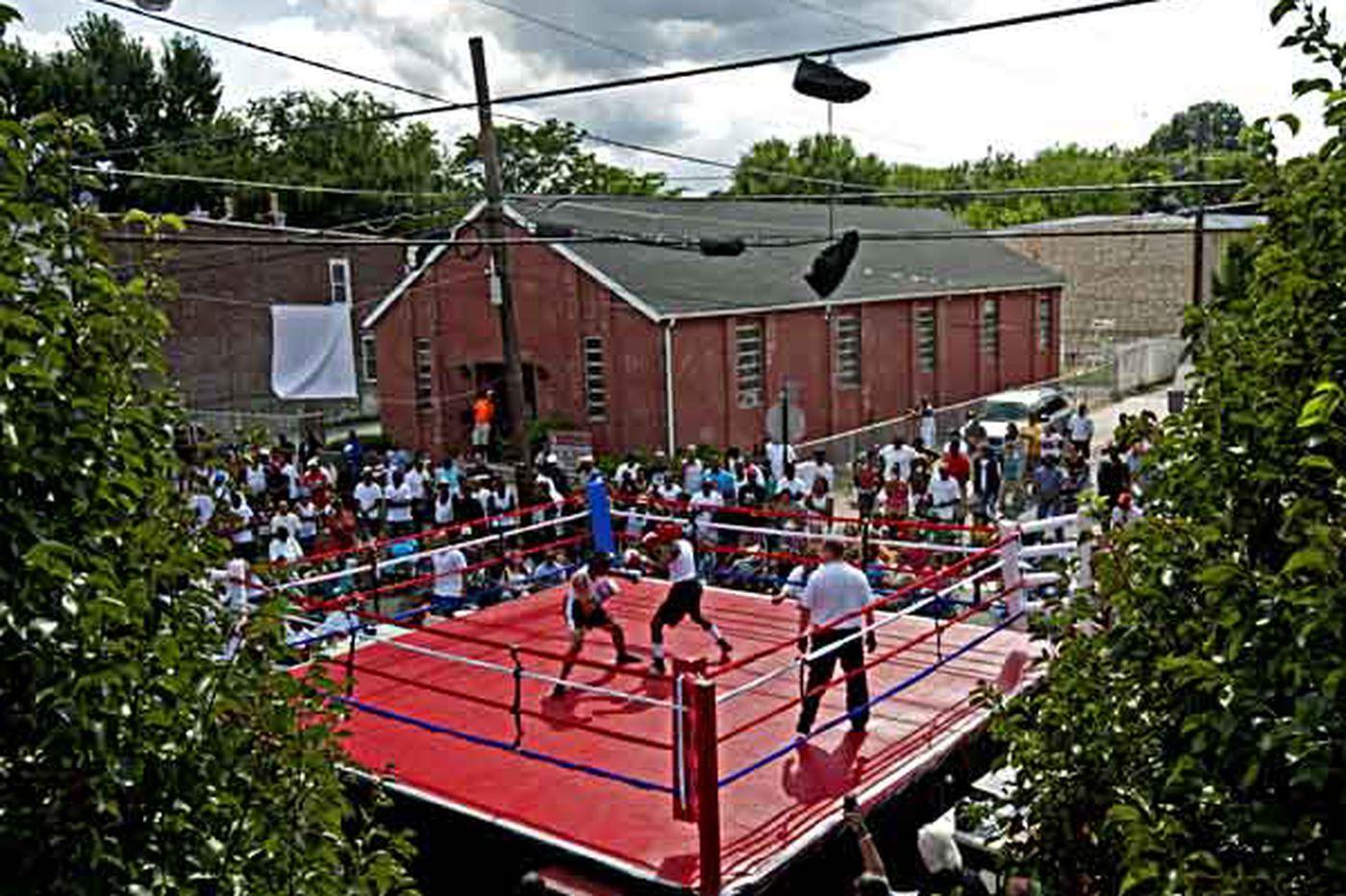 Camden boxing gym still awaits repairs