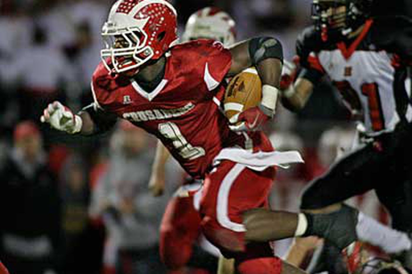 Off. Player of the Year: Delsea's Medley scored 35 TDs