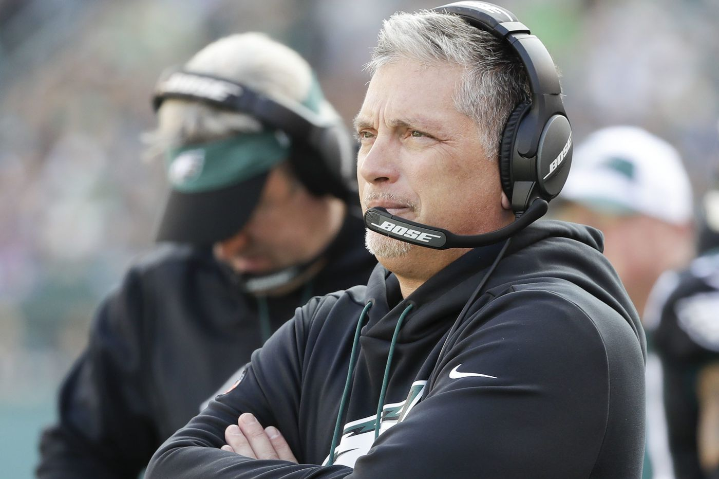Jim Schwartz says Eagles' defensive turnaround against Giants, led by Malcolm Jenkins and Michael Bennett, was biggest he has seen