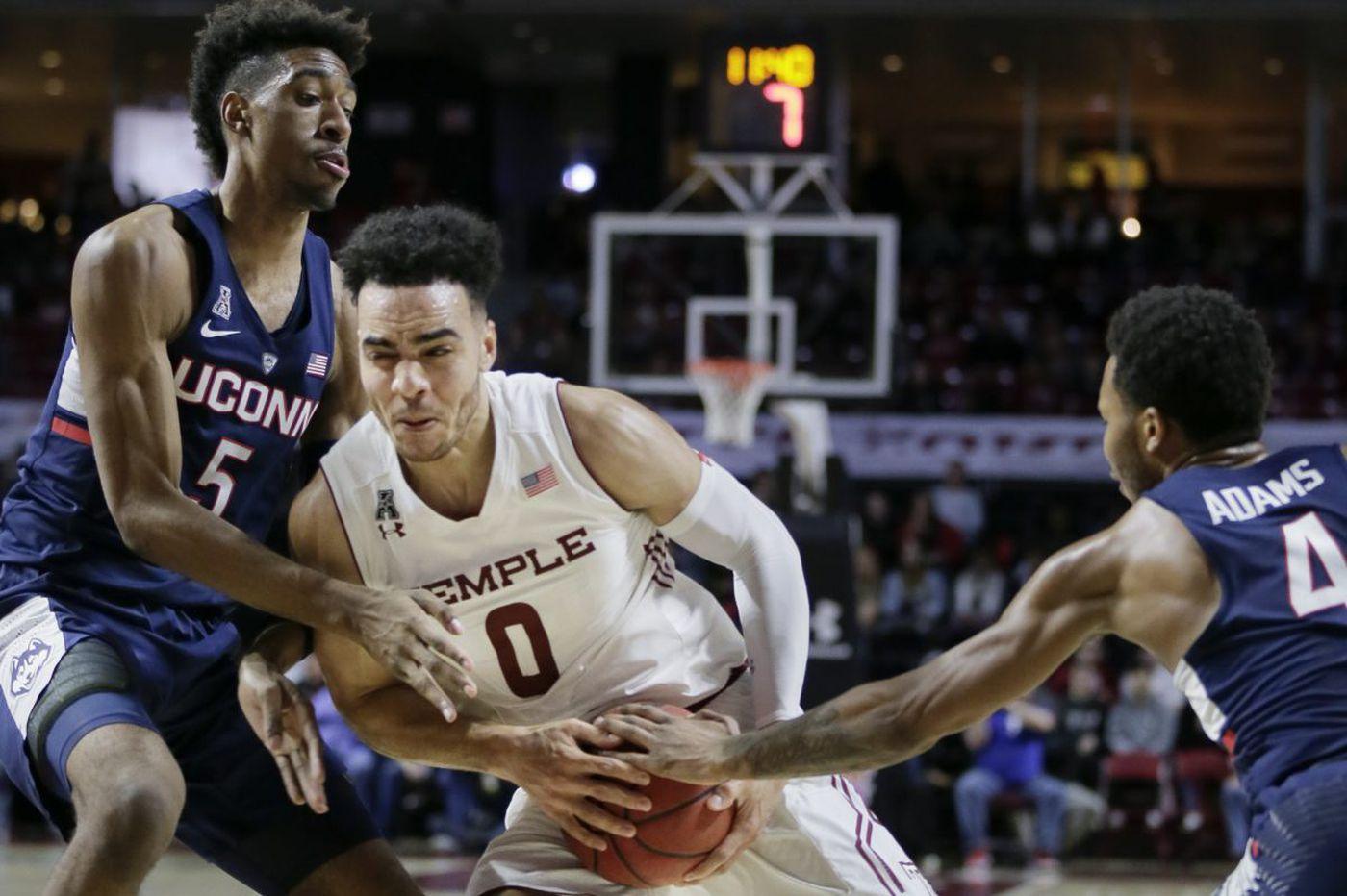 Temple's Obi Enechionyia wins AAC basketball scholar-athlete award