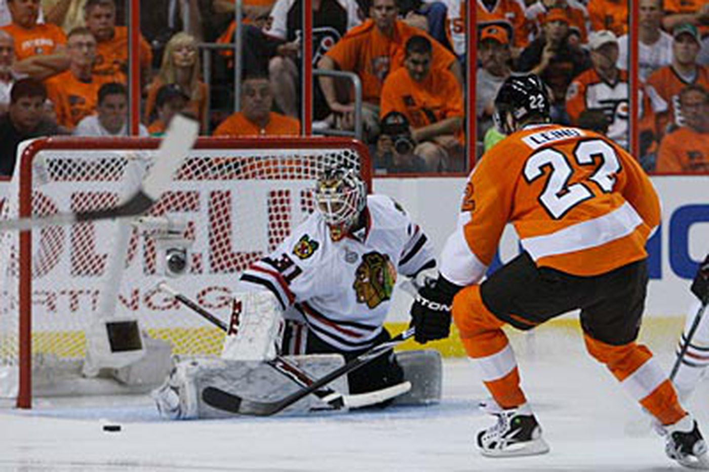 Donnellon: Leino motoring along in Stanley Cup finals