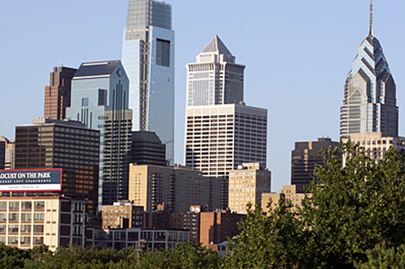 Comcast Center, Phila.'s tallest building, is clean-lined and dignified
