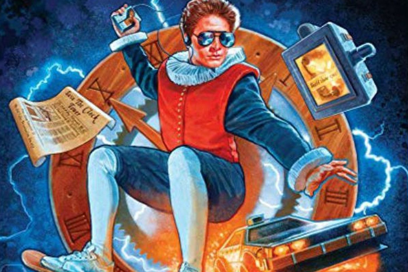 Shakespeare meets 'Back to the Future' and 'Mean Girls' in the latest from Philly's Quirk Books