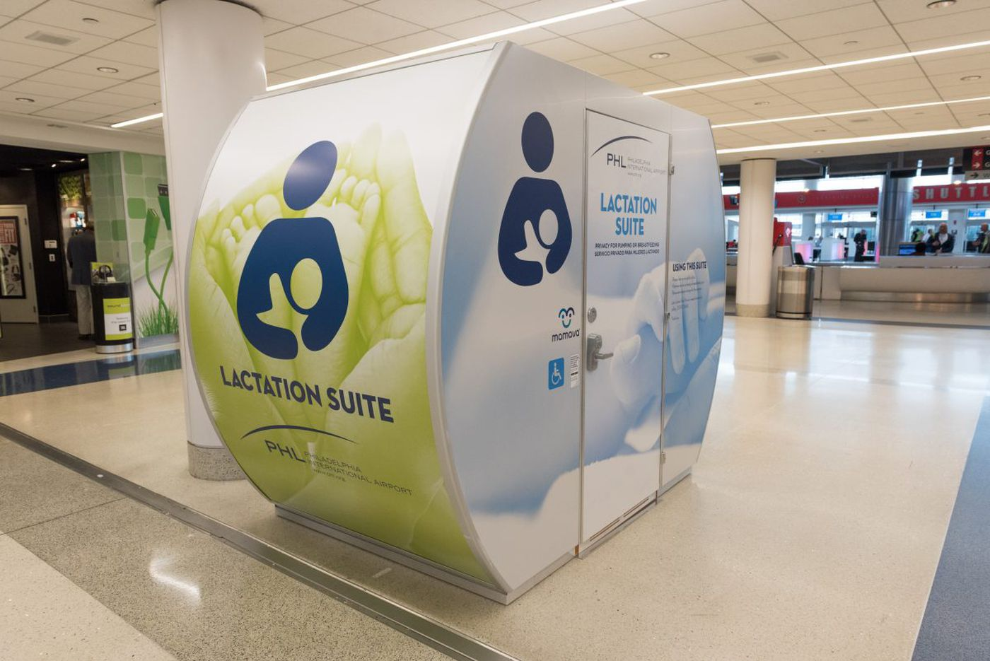Philly airport adds breastfeeding 'pod' for moms on the go